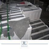 Basalto grigio naturale della pietra G684 per il lastricatore e le mattonelle