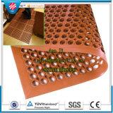 Chuveiro antiderrapantes Tapete Tapete de cozinha de drenagem, Atividade antibacteriana do Tapete de Borracha