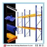 Les types standard de protection de la vente au détail de l'équipement de stockage de palettes sur le fil de rayonnage à palettes