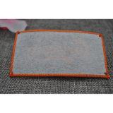 Rótula de tecido têxtil personalizado com Overlocking para vestuário