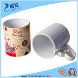 Tazas cerámicas de 11 onzas con mango corazón