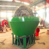Macchina per la frantumazione del laminatoio bagnato della vaschetta del cono di qualità per arricchimento dell'oro