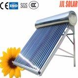 Calefator de água solar de alta pressão/pressurizado da câmara de ar de vácuo do coletor solar de sistema de energia do tanque de armazenamento da água quente de calefator solar de aço inoxidável