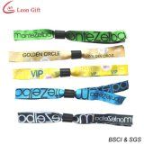 Bracelet fait sur commande bon marché du club VIP de bracelet du logo VIP (LM1497)