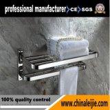 Crémaillère d'essuie-main d'accessoires de salle de bains d'acier inoxydable de modèle moderne (LJ502H)