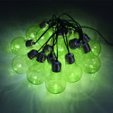 Luzes de Seqüência de fadas 10 lâmpadas LED com fio de cobre dentro de decoração Férias Sc-Slb