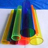 Limpar os tubos de plástico em acrílico colorido com Dimenstions