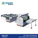Película semi automática del PVC de Msfy-1050m Glueless y máquina que lamina de papel con el cuchillo redondo