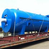 autoclave en caoutchouc de Vulcanizating certifié par ASME de chauffage de vapeur de 3000X8000mm (SN-LHGR30)