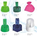 装飾的な包装のプラスチックビンの王冠のびんのふたのプラスチック製品