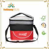 2016 Nouvelle mode Desigher deux compartiments de gros sacs à Lunch Bag Sac du refroidisseur