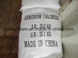 25kg plastiek Geweven Zak het Engels die het Industriële Chloride van het Ammonium van de Rang verpakken