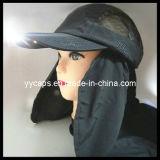 메시 (YYCM-120397)를 가진 까만 LED 모자