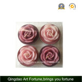 Rose Flower Tealight Candle for Wedding Decoração do Dia das Mães
