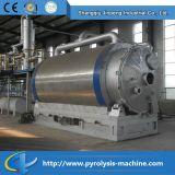 Verwendete Gummireifen-Pyrolyse-Raffinerie für Verkauf