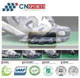 A absorção de choque antiderrapagem da repercussão elevada ostenta o revestimento para o campo de esportes