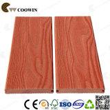 Decking composito di plastica di legno della scheda antiscorrimento e Anti-UV di WPC (CD-01)