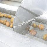 Gefrorene Pommes-Frites brieten Fließband
