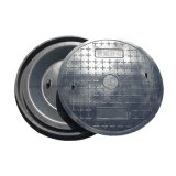 Housse de trou circulaire robuste avec cadre rond
