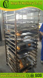 máquinas comerciais da fatura de pão 64plates com 200kg/h