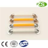 Barra di gru a benna antisdrucciolevole d'acciaio superiore della barra di sicurezza del passaggio ABS+Stainless