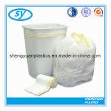 PET materieller Plastikabfall-Beutel mit Drawstriing