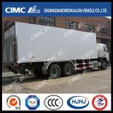 Cimc 6*4 Gekoelde Vrachtwagen Huajun met Chassis Scania