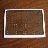 ANSI Z297 En12150の証明書が付いているシルクスクリーンの印刷の/Coloredの陶磁器のフリットにされた緩和されたガラス3つ- 12のmmの