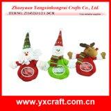 Albero di Natale artificiale del cerchio del perno di portello di natale della decorazione di natale (ZY14Y423-1-2-3)