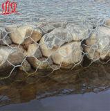 Alambre de malla Gabion (malla de piedra de la jaula)