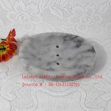 Камень мыло блюдо /мраморным мыло блюдо /серого мрамора держатель Soap
