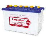 Batteria acida standard di N90 12V90ah 12volt JIS per iniziare dell'automobile