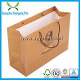 Nach Maß Papierbeutel-Packpapier-Geschenk-Beutel mit Firmenzeichen-Druck