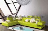 Угол ткани диван в гостиной мебели (A39)