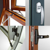 Feelingtop Qualität Thermisch-Brechen doppeltes Glasfenster (FT-W108)