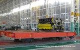 Carrinho de transferência elétrica da série Kpd aplicada pela fábrica em trilhos