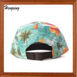 昇進の方法カスタム花の5つのパネルの帽子