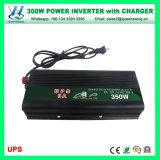C.C de 300W 12V à l'inverseur d'énergie solaire à C.A. 110V/220V avec le chargeur (QW-M300UPS)