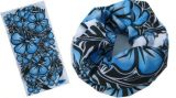 Grande écharpe de tube de modèle de fleur (YT-9096)