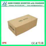 invertitore di energia solare 500W con il caricabatteria (QW-M500UPS)