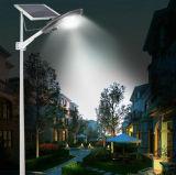luz de calle solar semi integrada fuerte ajustable del panel solar 15W