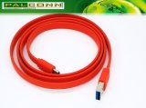 Высокое качество USB3.0 для того чтобы напечатать c плоскую линию на машинке кабель обеспечивает обслуживание OEM/ODM