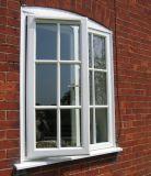 석쇠를 가진 방음 PVC 여닫이 창 Windows