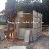 De gemakkelijke Geassembleerde Comité Vastgeboute Tank van het Water SMC/FRP/Fiberglass
