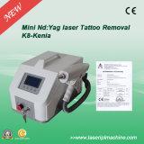 Macchina calda di rimozione del tatuaggio del laser del ND YAG dell'Q-Interruttore di vendita K8 con Aimming rosso