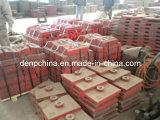 Плита вкладыша запасных частей дробилки удара/дробилки в Китае