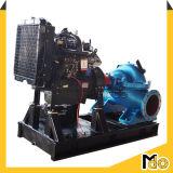 고용량 원심 배수장치 양쪽 흡입 수도 펌프