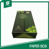 Cartão de empacotamento da caixa de presente do petróleo verde-oliva da alta qualidade