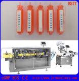 Frasco ampolla de plástico de llenado de líquido de la máquina de sellado para Cosmética