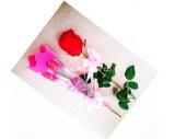 부대 단 하나 로즈 꽃 소매를 감싸는 고품질 OPP 플라스틱 꽃 포장 부대